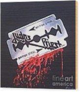 Judas Priest Wood Print