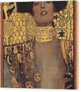 Judith Wood Print by Gustive Klimt