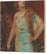 Judith Wood Print by Jean Joseph Benjamin Constant