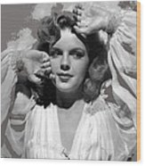 Judy Garland Mgm Publicity Photo Presenting Lily Mars Clarence Sinclair Bull Photo 1943-2014 Wood Print