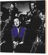 Judy Garland Singing The Man That Got Away A Star Is Born 1954-2014   Wood Print