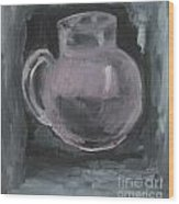 jug Wood Print