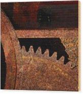 Juggernaut Wood Print