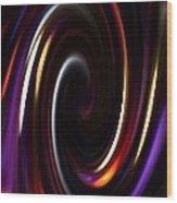 Juggling Colors Wood Print by Gail Matthews