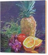 Juicy Fruit Wood Print
