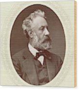 Jules Verne (1828-1905) Wood Print
