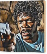 Jules Winnfield Wood Print