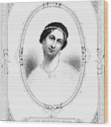 Julia Tyler (1820-1869) Wood Print