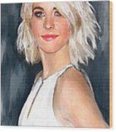 Julianne Hough Wood Print