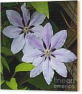 Julia's Bouquet   #6321 Wood Print