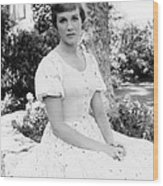 Julie Andrews, Ca. Mid-1960s Wood Print