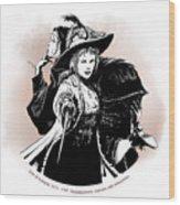 Julie D' Aubigny Wood Print