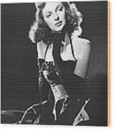 Julie London, 1950 Wood Print