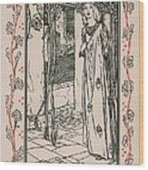 Juliet From Romeo And Juliet Wood Print