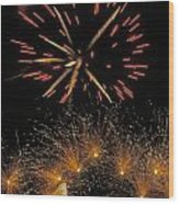 July 4 Independence Day Usa Wood Print