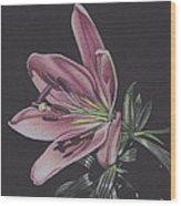 July Wood Print by Elizabeth Dobbs