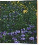 July Prairie Wood Print