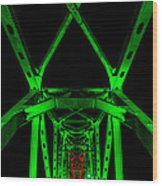Junction Bridge Wood Print
