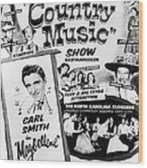 June Carter Cash Wood Print by Silver Screen