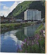 Juneau Federal Building Wood Print