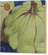 Junee's Squashes Wood Print