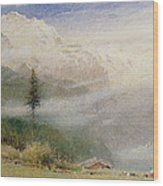 Jungfrau, 1913 Wood Print by Albert Goodwin