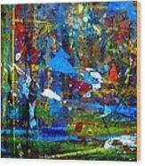 Jungle Boogie 130104-3 Wood Print