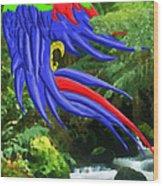Jungle Quaker Wood Print by John Kreiter