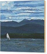 Juniper Island Lake Champlain Vt/ny Wood Print