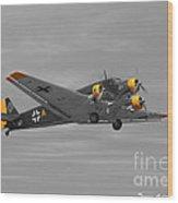 Junkers Ju 52 Wood Print