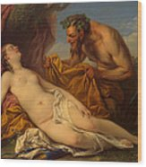 Jupiter And Antiope Wood Print