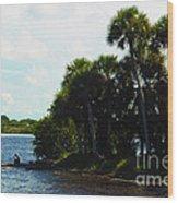 Jupiter Florida Shores Wood Print