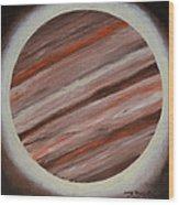 Jupiter Spectral Wood Print