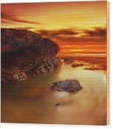 Jupiter Sunrise Wood Print by Mark Leader