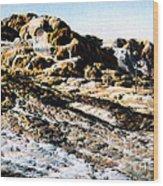 Jupiter Terrace Yellowstone Np 1928 Wood Print