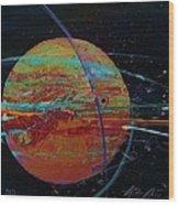 Jupiterlicious Wood Print by Chris Cloud