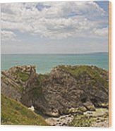 Jurassic Coast At Lulworth Wood Print