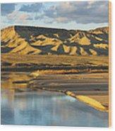Jurassic Colorado Wood Print