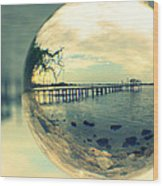 Just Another Pier II Wood Print