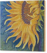 Just Another Sunflower Wood Print