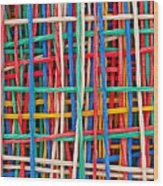 Just Strings Attached II Wood Print by Shawn Hempel