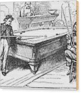 Juvenile Delinquency, 1881 Wood Print