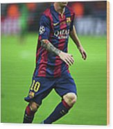 Juventus V FC Barcelona  - Uefa Wood Print