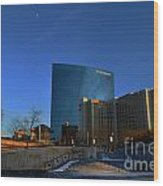 Jw Marriott On The Canal Indianapolis Wood Print