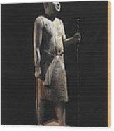 Ka-aper Lcalled Sheikh El-beled. Ca Wood Print