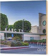 Kabc 7 Studio Burbank Glendale Ca Wood Print