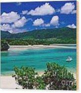 Kabira Bay Wood Print