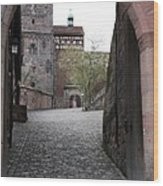 Kaiserburg - Nuremberg Wood Print