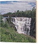 Kakabeka Falls Wood Print