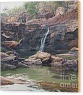 Kakadu Waterfall Wood Print